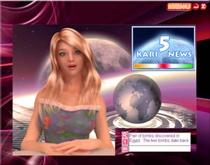 Kari Reads the News Now!